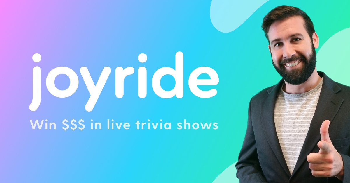 Joyride: play and create live shows with friends